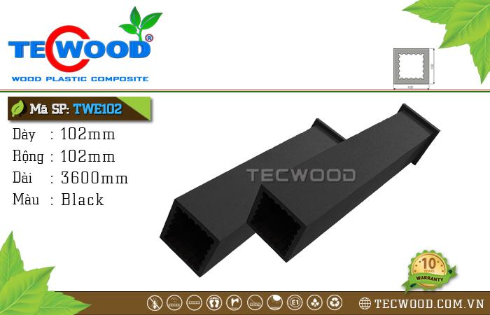 Trụ cột gỗ nhựa TWE102-Black