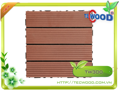 Tấm vỉ gỗ nhựa TecWood TW300 2