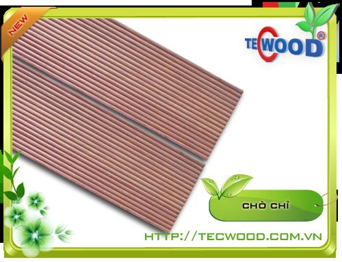 Sàn gỗ tự nhiên ngoài trời chò chỉ