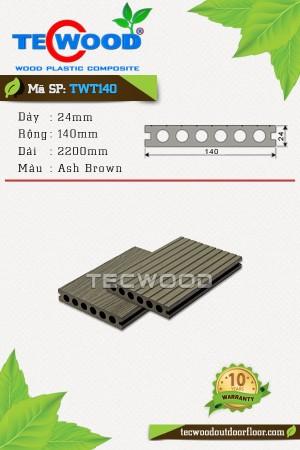 Sàn gỗ TecWood TWT140 Ash-Brown