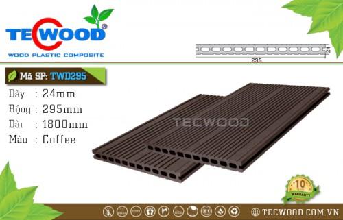 Sàn gỗ TecWood TWD295 - Coffee