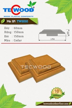 Nắp chụp đầu trụ cột TWS150-Cedar