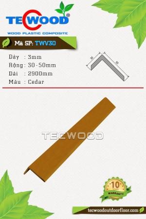 Nẹp chữ L TWV30 - Cedar