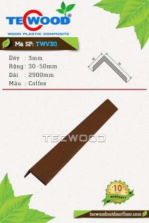 Nẹp chữ L TWV30 - Coffee