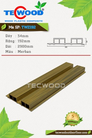 Tấm ốp gỗ nhựa TWZ192 - Merban