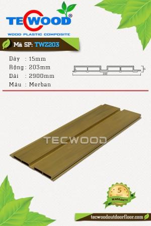 Tấm ốp gỗ nhựa TWZ203 - Merban