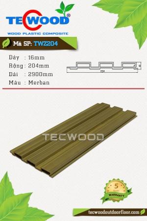 Tấm ốp gỗ nhựa TWZ204 - Merban