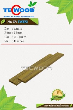 Thanh lam gỗ nhựa TWS72 Merban