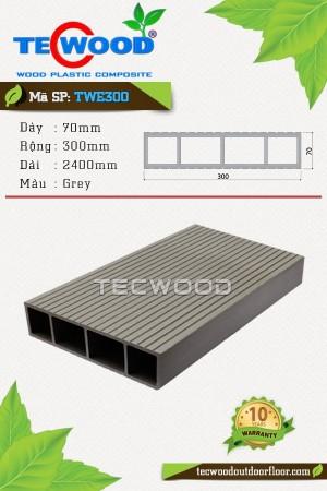 Thanh lam gỗ nhựa TWE300-Grey