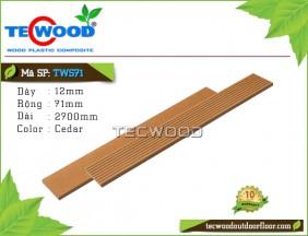 Tấm ốp gỗ nhựa TWS71 Cedar