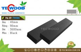 Thanh lam gỗ nhựa TWS90 Black