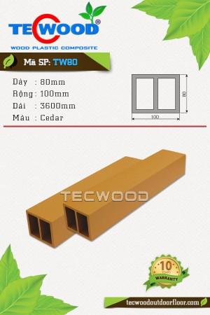 Lam gỗ nhựa TW80 cedar
