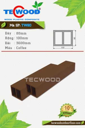 Lam gỗ nhựa TW80 Coffee