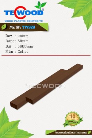Lam gỗ nhựa TWS28 coffee
