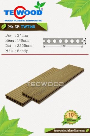 Sàn gỗ ngoài trời TecWood TWT140 Sandy