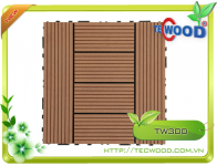 Tấm vỉ gỗ nhựa TecWood TW300 4