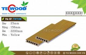 Sàn gỗ cao cấp TecWood TWT138 - Yellow