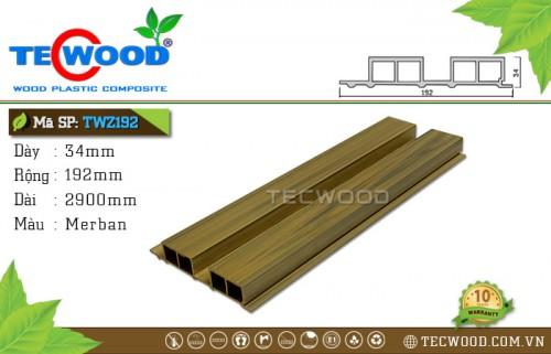 Tấm ốp gỗ nhựa TWZ192 - Merban