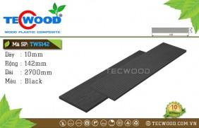 Tấm ốp gỗ nhựa TWS142 Black