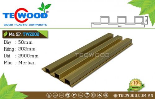 Tấm ốp gỗ nhựa TWZ202 - Merban