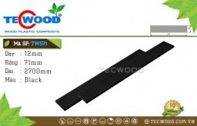 Tấm ốp gỗ nhựa TWS71 Black