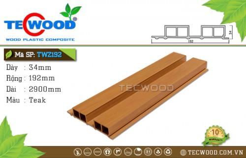 Tấm ốp gỗ nhựa TWZ192 - Teak