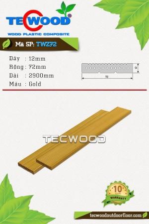 Thanh lam gỗ nhựa TWZ72 - Gold