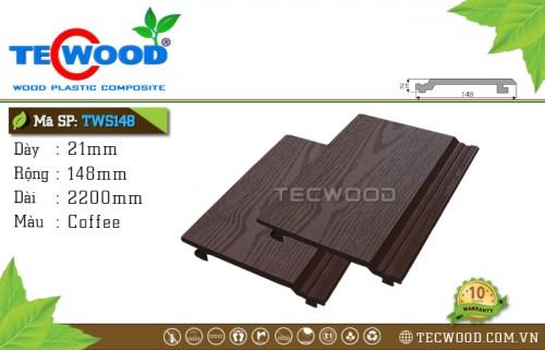 Tấm ốp gỗ nhựa TWS148 Coffee