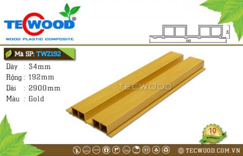 Tấm ốp gỗ nhựa TWZ192-Gold