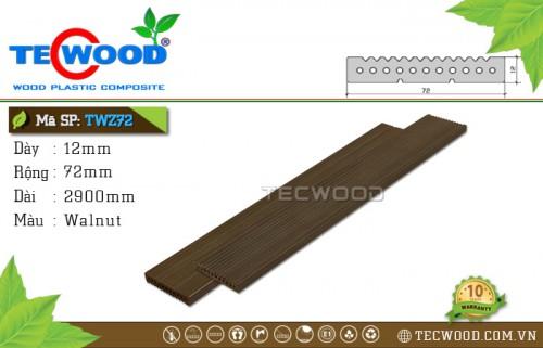 Tấm ốp gỗ nhựa TWZ72 - Walnut