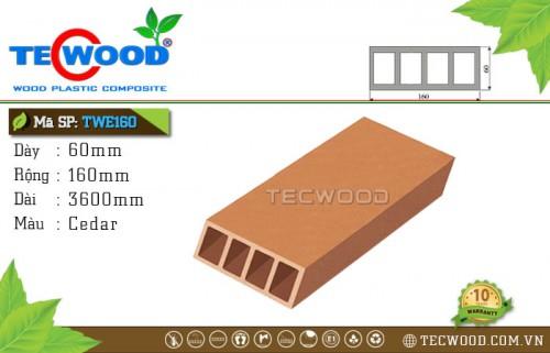 TecWood TWE160 Cedar