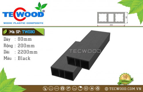 Thanh lam TecWood TWE80-Black