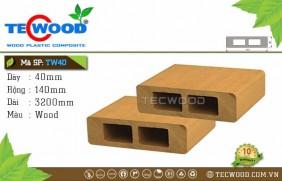 Thanh lam gỗ nhựa TW40 - Wood