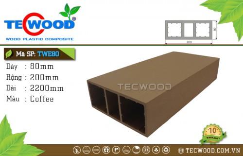 Thanh lam TecWood TWE80-Coffee