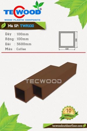 Trụ cột gỗ nhựa TWR100 Coffee