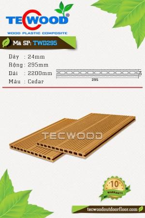 Sàn gỗ TecWood TWD295-Cedar