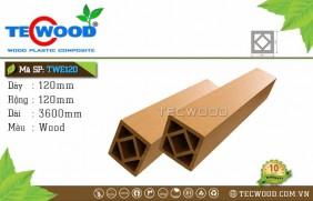 Trụ cột gỗ nhựa TWE120-Wood