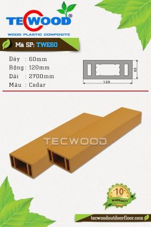 TecWood TWE60 Cedar