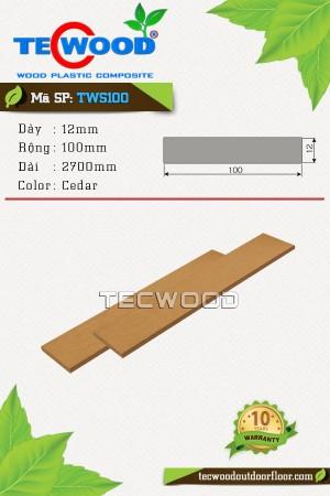 Thanh lam gỗ nhựa TWS100 Cedar