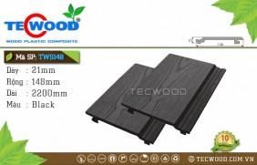 Tấm ốp gỗ nhựa TWS148 Black