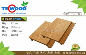 Tấm ốp gỗ nhựa TWS148 Wood