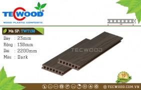 Sàn gỗ cao cấp TecWood TWT138 - Dark