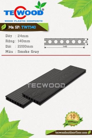 Sàn gỗ ngoài trời TecWood TWT140-Smoke Gray