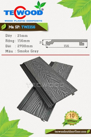 Tấm Ốp Tường TWZ156 Smoke Gray