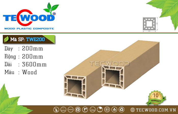 Trụ cột gỗ nhựa TWE200-Wood