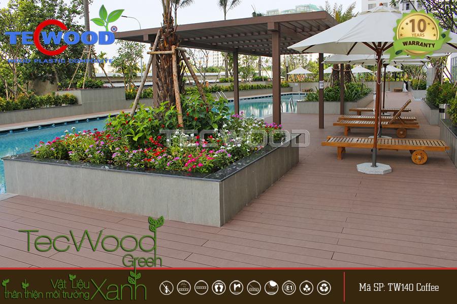 Giá thi công sàn gỗ nhựa ngoài trời tại Tp Hồ Chí Minh