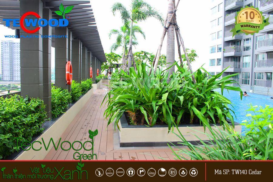 Các kích thước sàn gỗ ngoài trời phổ biến hiện nay