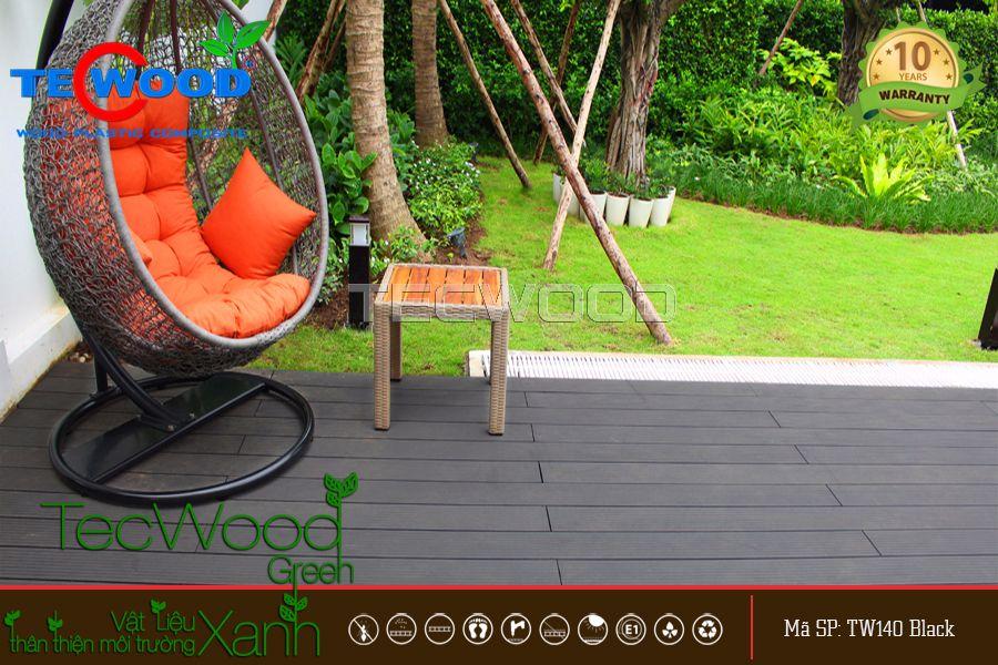 Sàn gỗ ngoài trời tại Bình Định