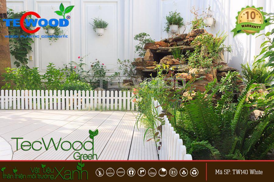 Sàn gỗ nhựa tổng hợp - vật liệu ngoài trời HOT nhất hiện nay