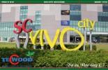Sàn gỗ TecWood cho dự án siêu thị Vivo City
